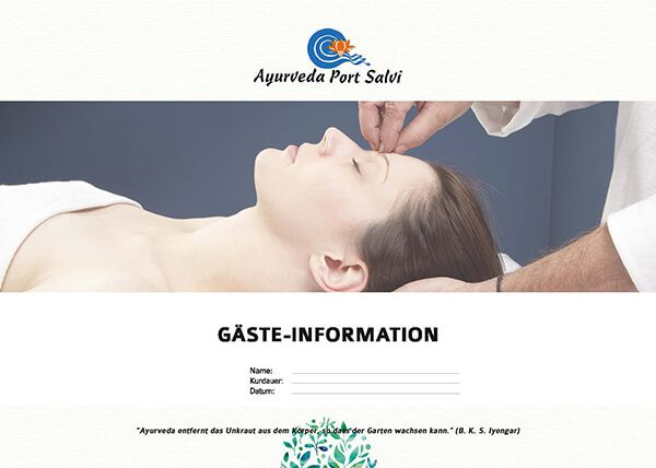 Ayurveda Port Salvi Gäste - Information