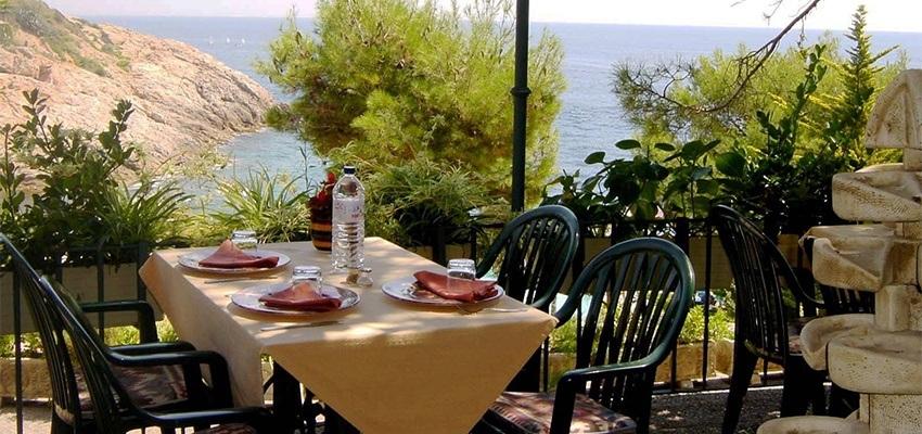 Das Ayurveda Restaurant im Ayurveda Hotel Port Salvi